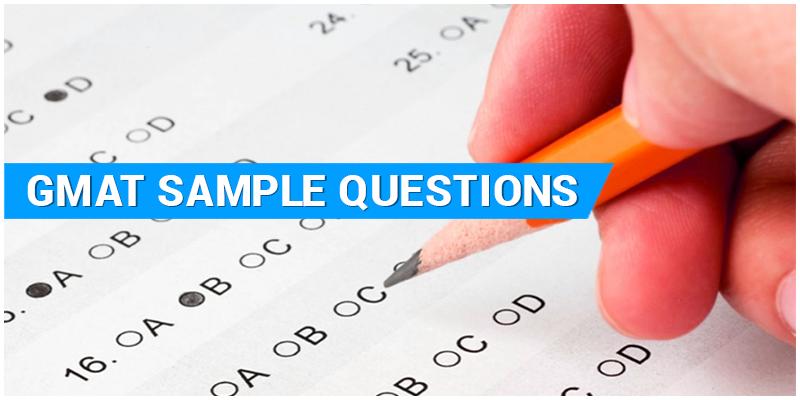 GMAT Sample Question Paper