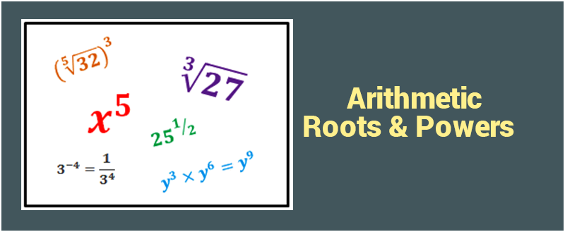 Arithmetic: Roots and Powers