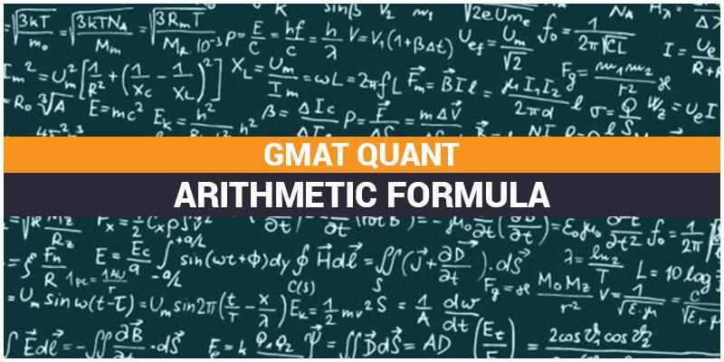 GMAT QUANT ARITHMETIC FORMULA
