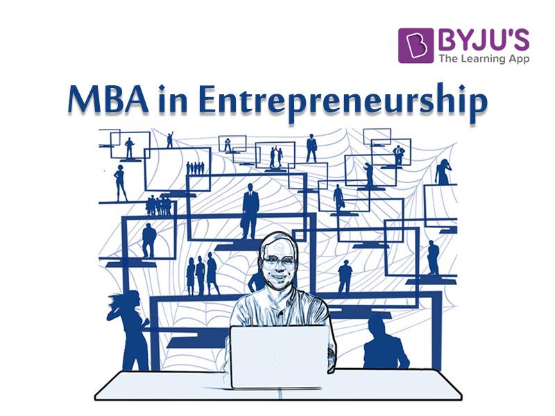 MBA in Entrepreneurship