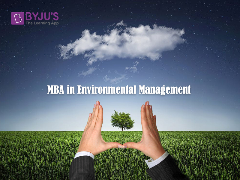 MBA in Enviornmental Management
