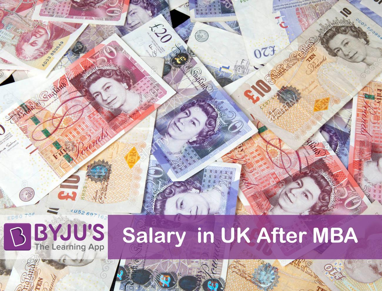 MBA Salary in UK