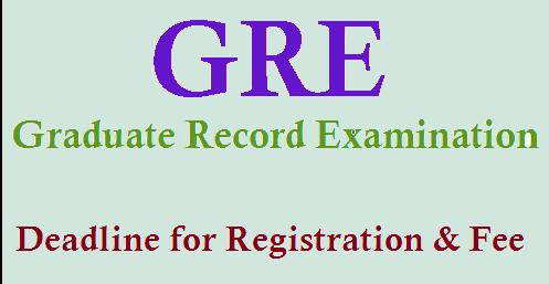 GRE registrations