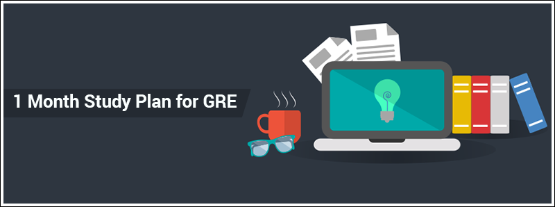 1 Month Study Plan for GRE