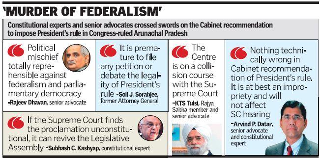 Arunachal presidents rule