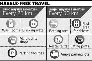 More wayside amenities along National Highways