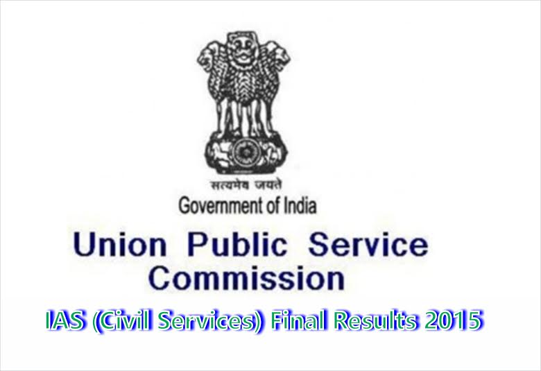 UPSC Civil Services IAS Exam Final Results