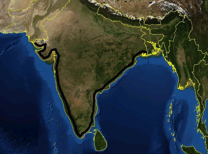 Coastal Plains in India- Image 1