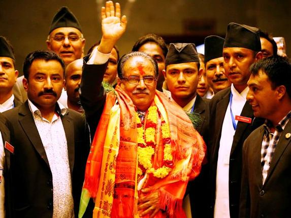 Prachanda is new Nepal PM