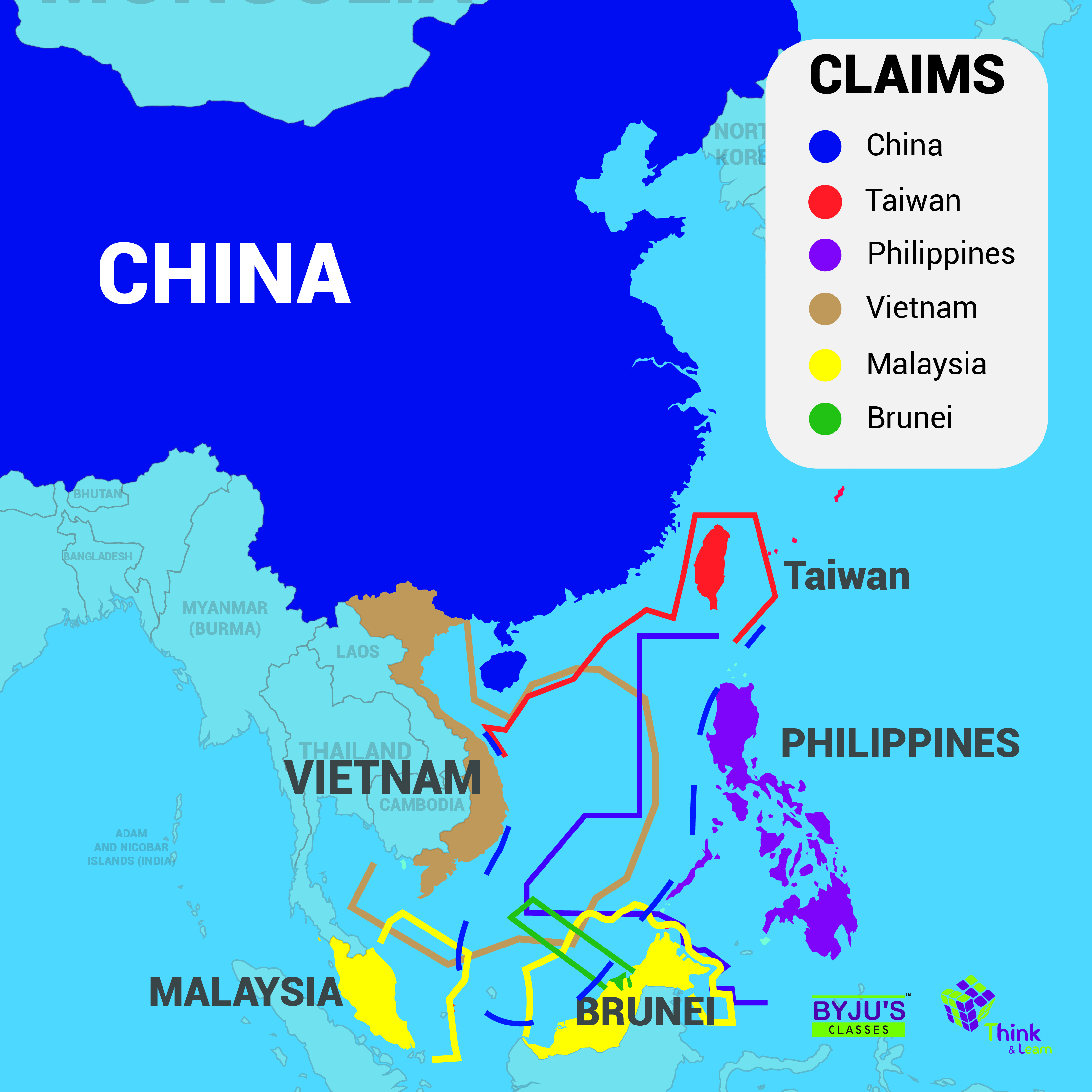 South China Sea Dispute - UPSC Notes