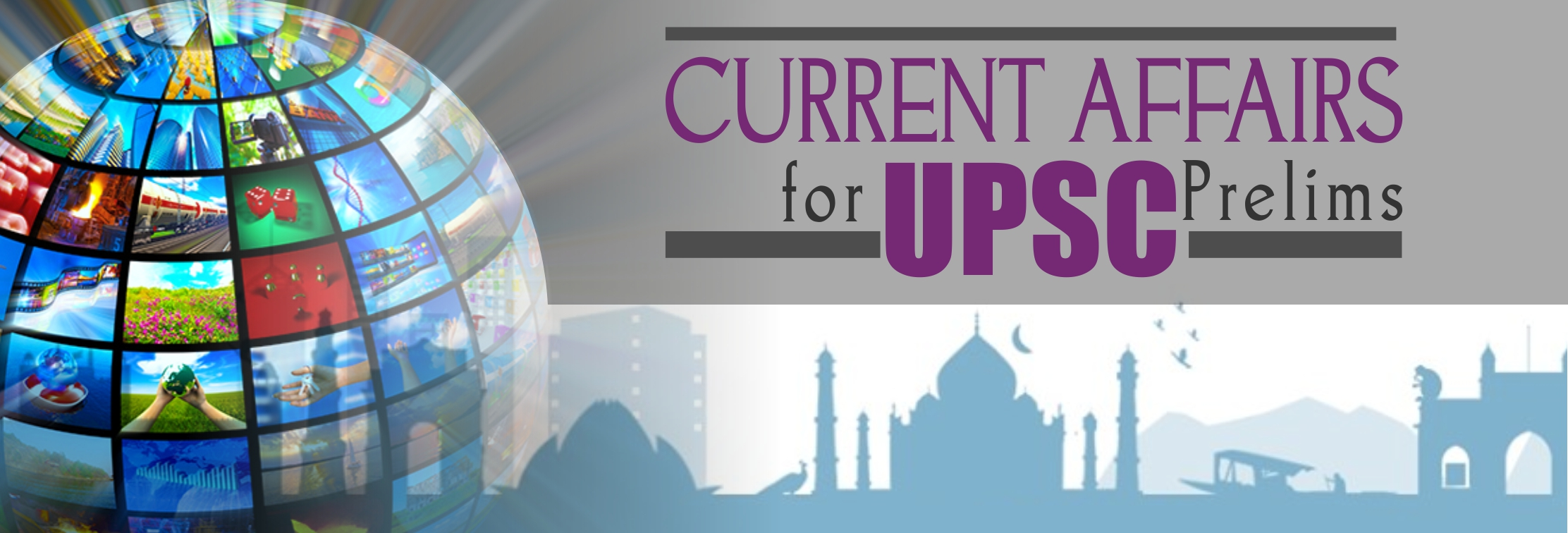 Current affairs for  upsc prelims