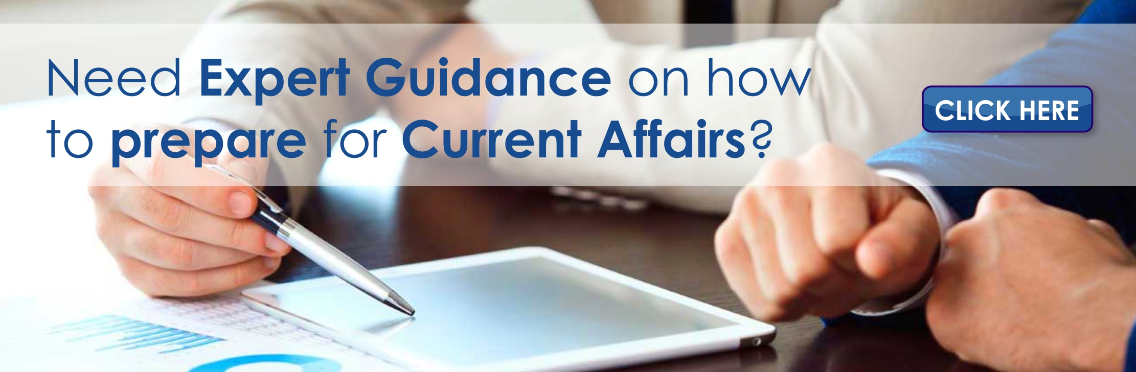 Need Expert Guidance on how to prepare for Current Affairs