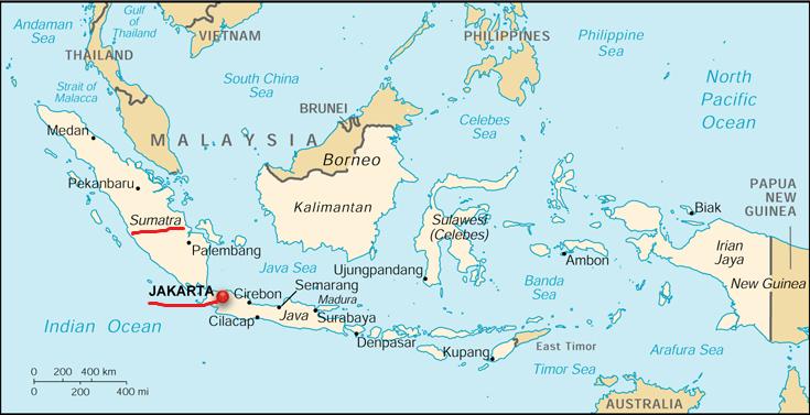 Map Of Asia Jakarta.Upsc Exam Preparation Revising World Geography Through Maps