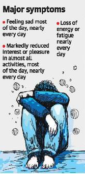 Depression among students a huge mental health issue
