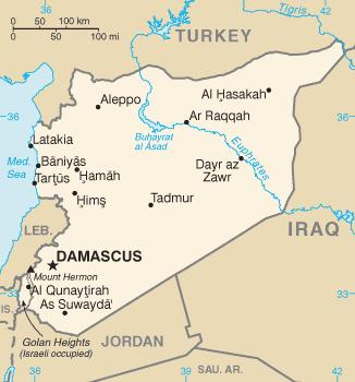 Borders of Syria