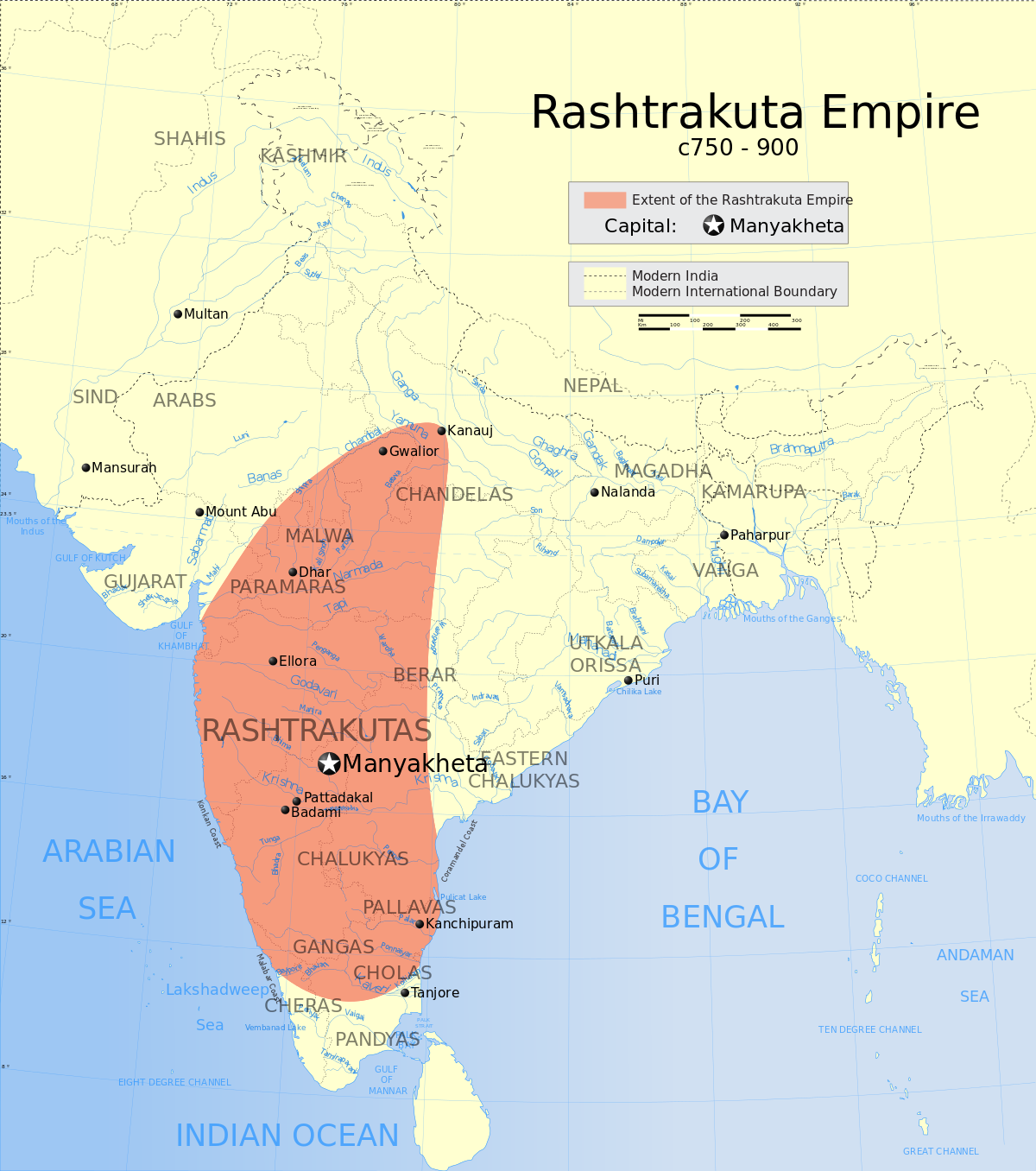 The Rashtrakutas (750-900)