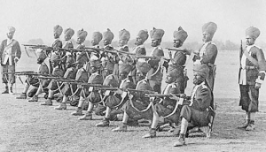 Soldiers in the British Indian Army