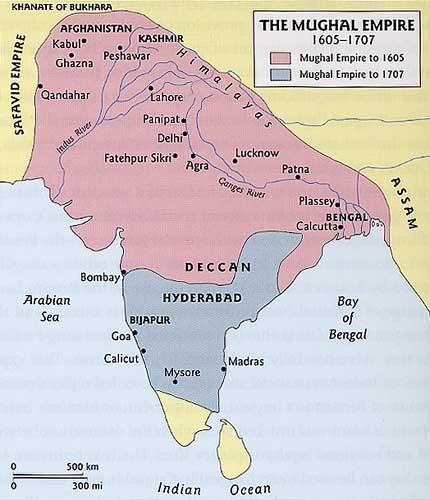 Mughal Empire (1605 - 1707)