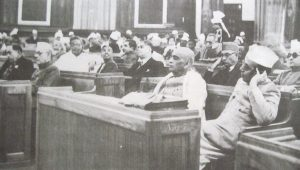 "First meeting of the Constituent Assembly - Picture  <ul>"" width=""229″ height=""130″ /></p> <p style="