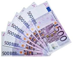 Euro currency notes