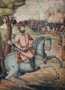 Nader Shah at the Sack of Delhi