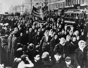 Women's Day in Russia, 1917