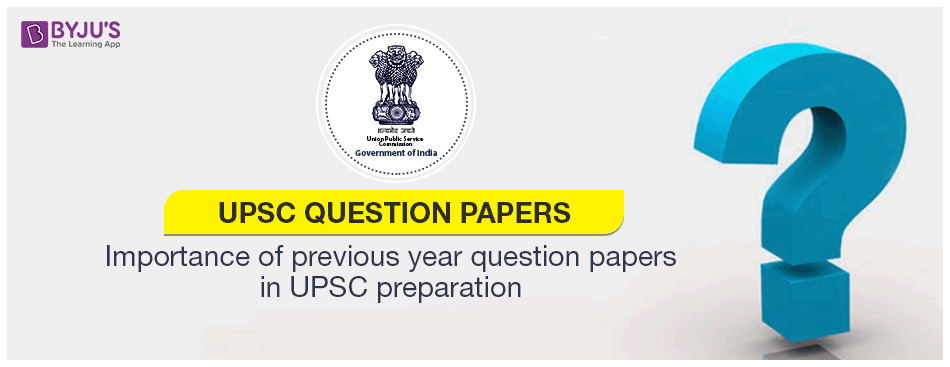 UPSC Mains Question Paper 2019 And IAS Previous Years' Question Papers