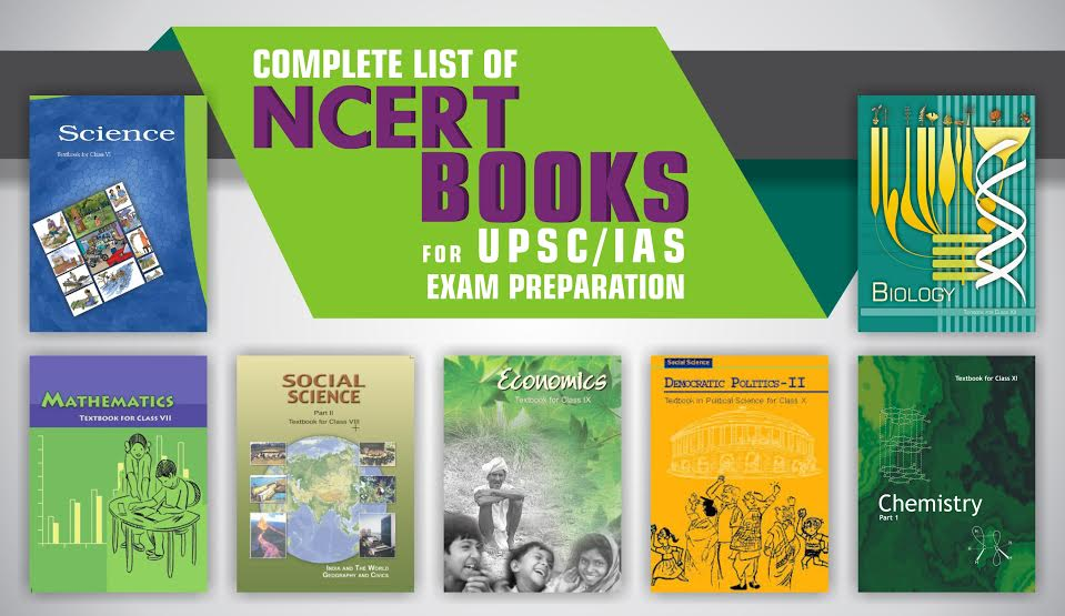 Must read UPSC books from NCERT book catalog
