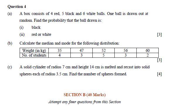 ICSE Class 10 Maths Exam 2018: Question Paper Analysis
