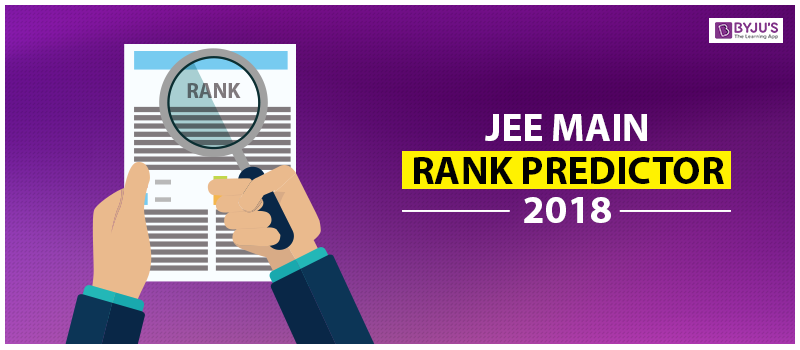 JEE Mains Rank Predictor 2018