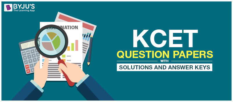 KCET Question Papers