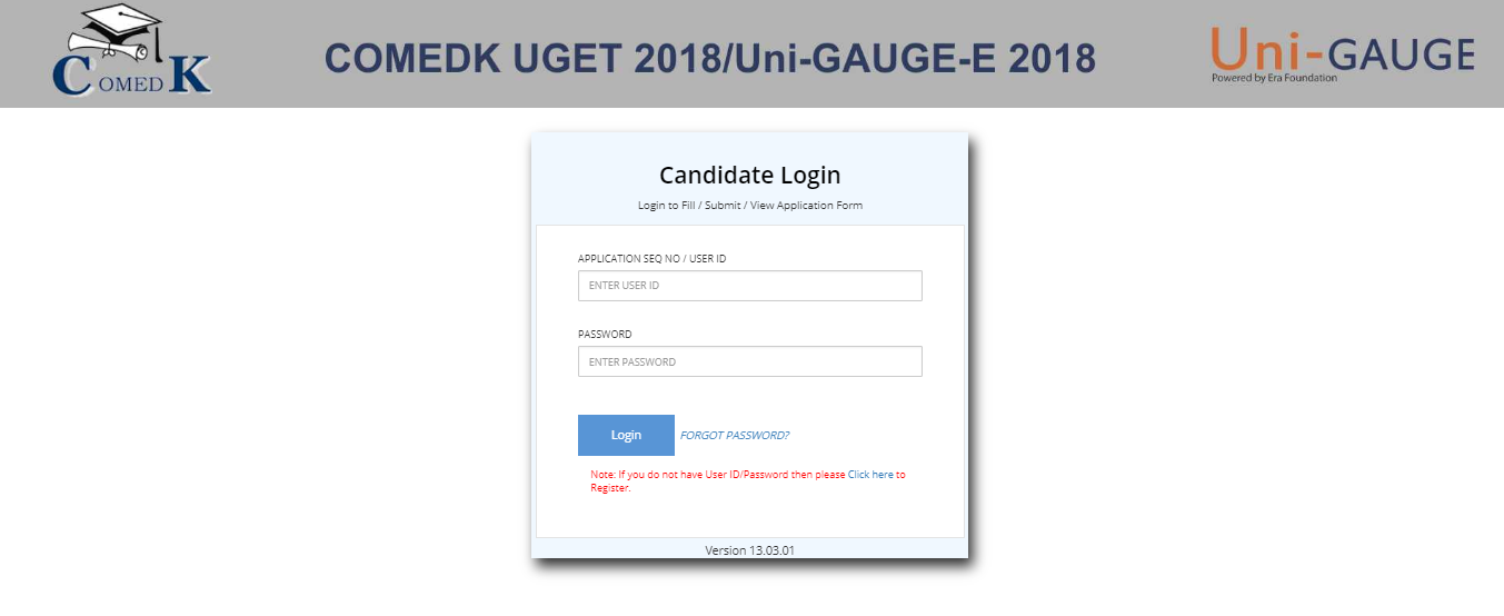 COMEDK Admit Card 2018 Released on the official website