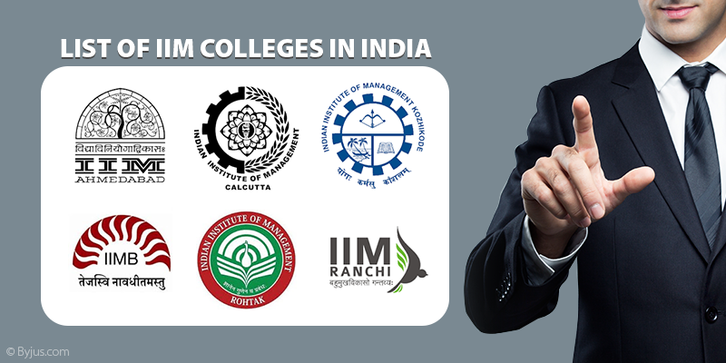 List Of IIM Colleges In India (IIM List)