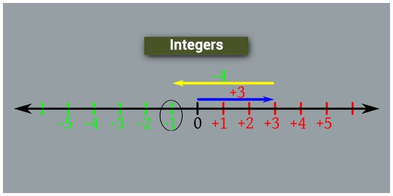 Integers in Maths