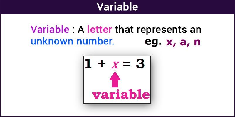 Variable in Algebra