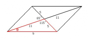 Parallelogram Example 2
