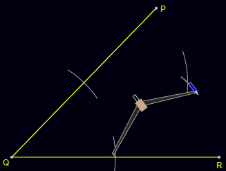 Angle Bisector Construction: Step 3