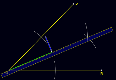 Angle Bisector Construction: Step 4