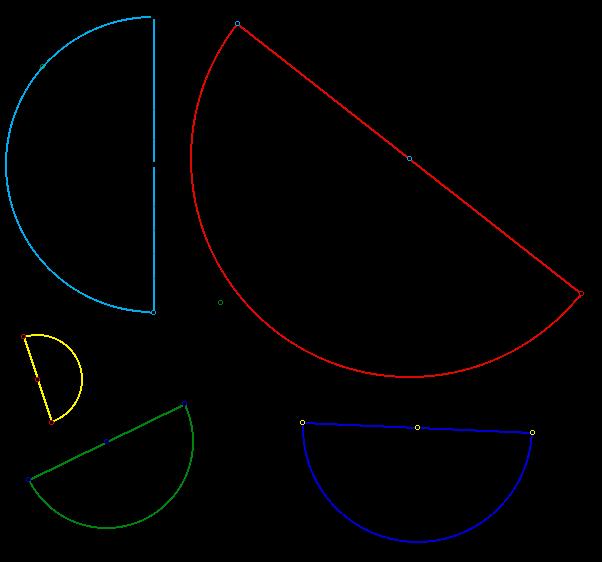 Semi Circle shape