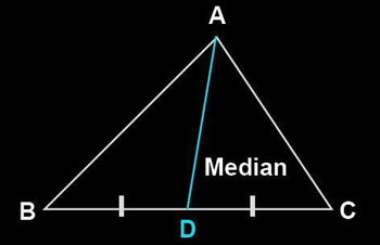 Median Of Triangle