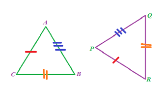 SSS-Congruence Of Triangles