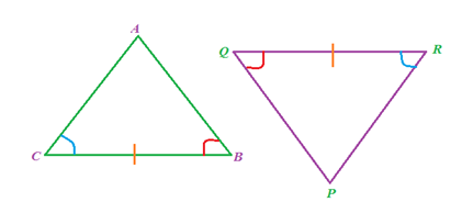 ASA-Congruence Of Triangles