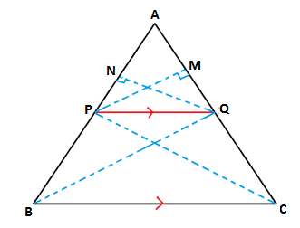 Triangle Proportionality Theorem - Proof