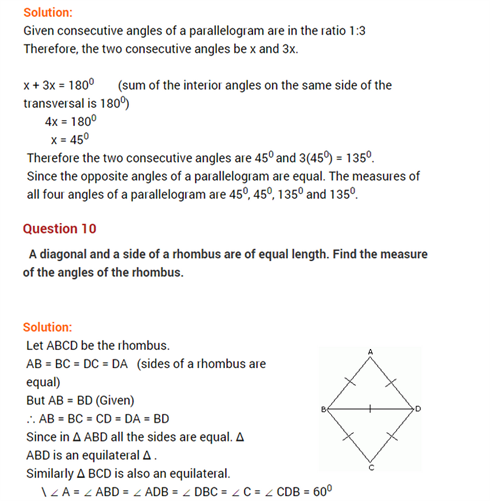 Important Questions for class 8 Maths Ch 3 Understanding
