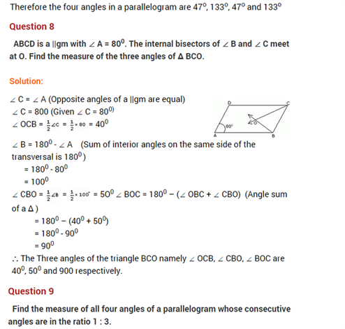 Important Questions Class 8 Maths Chapter 4 Practical Geometry Part 7