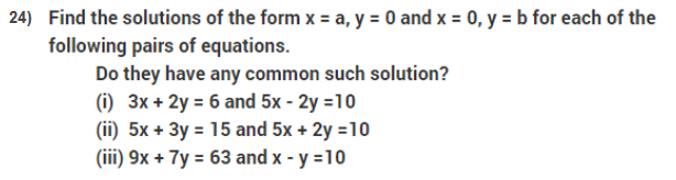 important questions class 9 maths chapter 3 coordinate geometry 24