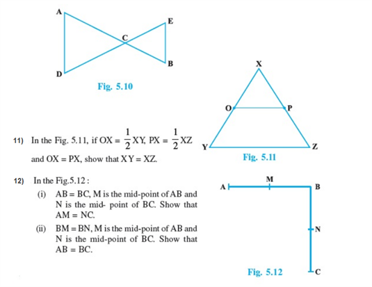Important questions for class 9 maths Chapter 5 Introduction