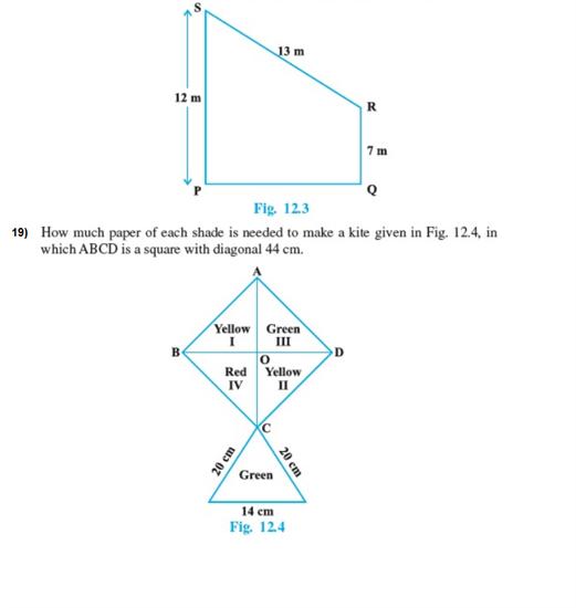 Important Questions Class 9 Maths Chapter 12 Herons Formula Part 3