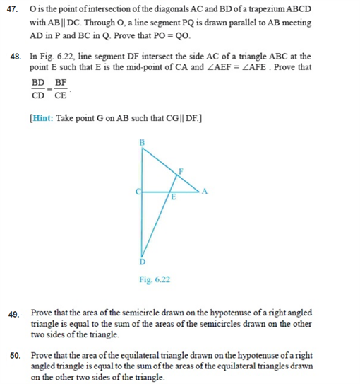 important questions class 10 maths chapter 6 triangles 16