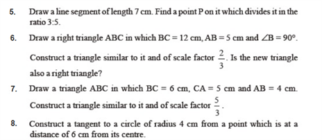 important questions class 10 maths chapter 11 constructions 2